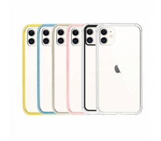 Funda Gel Iphone 11 6.1 UpCase con borde de color ARREGLATELO - 1