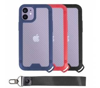 Funda Bumper Anti-Shock IPhone 12 Mini con Cordón corto - 3 Colores