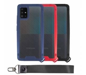 Funda Bumper Anti-Shock Samsung A51 5G con Cordón corto - 3 Colores