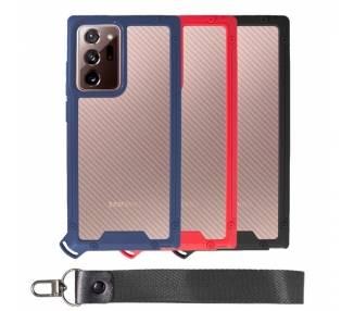 Funda Bumper Anti-Shock Samsung Note 20 Ultra con Cordón corto - 3 Colores