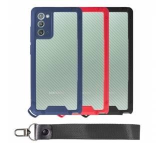 Funda Bumper Anti-Shock Samsung Note 20 con Cordón corto - 3 Colores