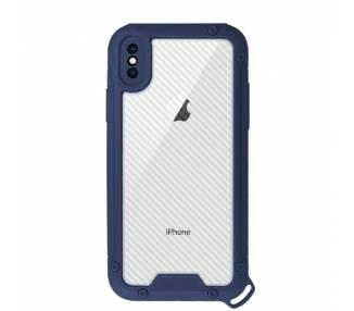 Funda Bumper Anti-Shock IPhone Xs Max con Cordón corto - 3 Colores