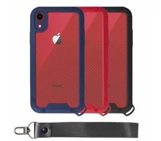 Funda Bumper Anti-Shock IPhone XR con Cordón corto- 3 Colores