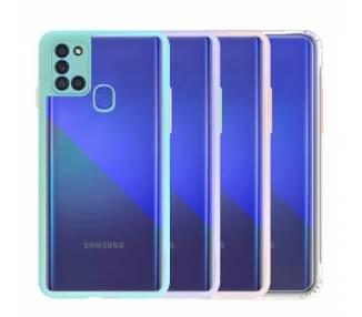 Funda Anti-golpe Blue Light Samsung Galaxy A21S - 4 Colores ARREGLATELO - 1