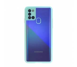 Funda Anti-golpe Blue Light Samsung Galaxy A21S - 4 Colores ARREGLATELO - 2