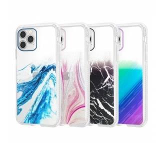 Funda Antigolpe IPhone 12 6.7 Efecto Gradiente - 4 Colores ARREGLATELO - 1