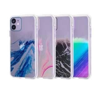 Funda Antigolpe IPhone 12 5.4 Efecto Gradiente - 4 Colores ARREGLATELO - 1