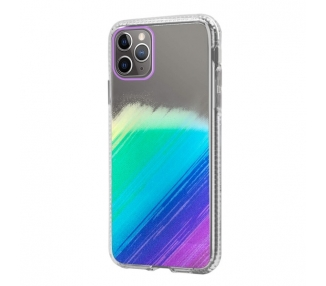 Funda Antigolpe IPhone 11 Pro Max Efecto Gradiente - 4 Colores ARREGLATELO - 1