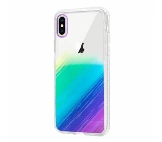 Funda Antigolpe IPhone Xs Max Efecto Gradiente - 4 Colores ARREGLATELO - 1