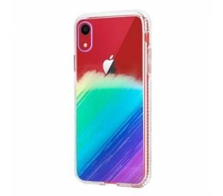 Funda Antigolpe IPhone XR Efecto Gradiente - 4 Colores ARREGLATELO - 1