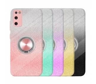 Funda Silicona Brillante Samsung Galaxy S20 con Imán y Soporte de Anilla 360º 5 Colores ARREGLATELO - 1