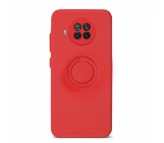 Funda Gel Silicona Suave Flexible para Xiaomi Mi 10T Lite con Imán y Soporte de Anilla 360º 7 Colores ARREGLATELO - 2