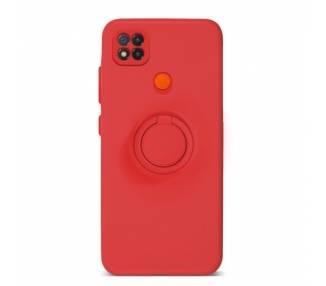 Funda Gel Silicona Suave Flexible para Xiaomi Redmi 9C con Imán y Soporte de Anilla 360º 7 Colores ARREGLATELO - 2