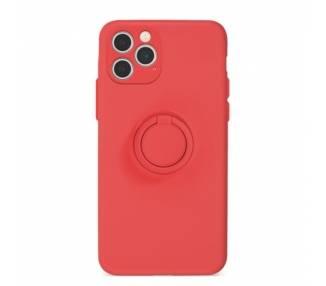 Funda Gel Silicona Suave Flexible para iPhone 12 Pro con Imán y Soporte de Anilla 360º 15 Colores ARREGLATELO - 2
