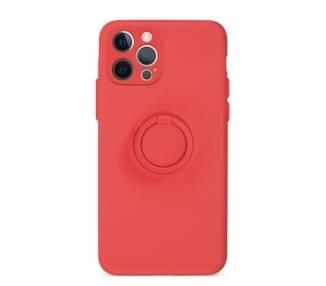 Funda Gel Silicona Suave Flexible para iPhone 12 Pro Max con Imán y Soporte de Anilla 360º 15 Colores ARREGLATELO - 2