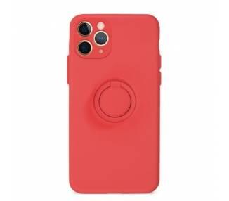 Funda Gel Silicona Suave Flexible para iPhone 11 Pro con Imán y Soporte de Anilla 360º 15 Colores ARREGLATELO - 2