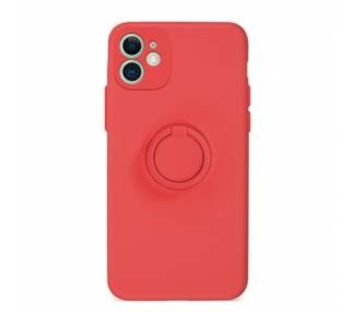 Funda Gel Silicona Suave Flexible para iPhone 11 con Imán y Soporte de Anilla 360º 15 Colores ARREGLATELO - 2