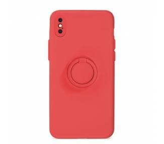 Funda Gel Silicona Suave Flexible para iPhone XS Max con Imán y Soporte de Anilla 360º 15 Colores ARREGLATELO - 2