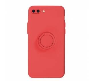 Funda Gel Silicona Suave Flexible para iPhone 7/8 Plus con Imán y Soporte de Anilla 360º 15 Colores ARREGLATELO - 2