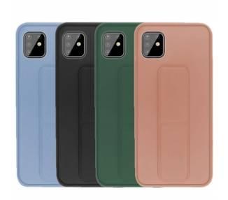 Funda Silicona Samsung Galaxy A81 Gel Premium con Soporte Magnético 4 Colores ARREGLATELO - 1