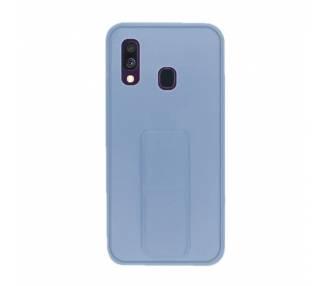 Funda Silicona Samsung Galaxy A40 Gel Premium con Soporte Magnético 4 Colores ARREGLATELO - 2