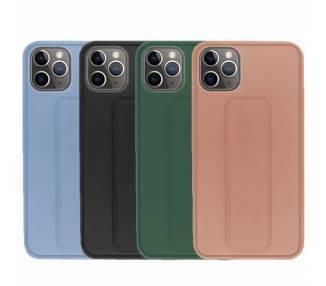 Funda Silicona iPhone 11 Pro Max Gel Premium con Soporte Magnético 4 Colores ARREGLATELO - 1