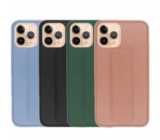 Funda Silicona iPhone 11 Pro Gel Premium con Soporte Magnético 4 Colores ARREGLATELO - 1