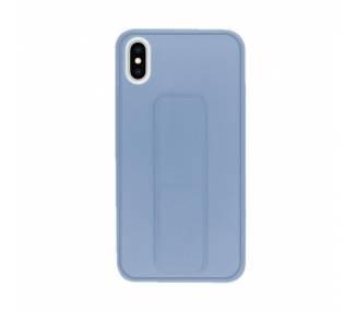 Funda Silicona iPhone XS Max Gel Premium con Soporte Magnético 4 Colores ARREGLATELO - 2