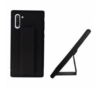 Funda Silicona Samsung Galaxy Note 10 Gel Premium con Soporte Magnético