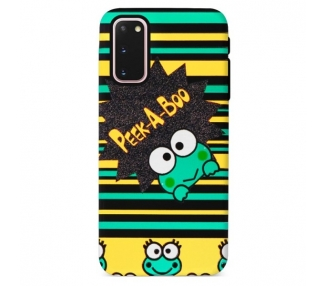 Funda Gel Doble Capa Samsung Galaxy S20 - Rana Peek A Boo