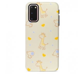 Funda Gel Doble Capa Samsung Galaxy S20 - Jirafa