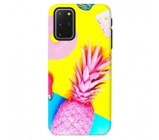 Funda Gel Doble Capa Samsung Galaxy S20 Plus - Piña Rosada