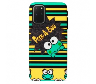 Funda Gel Doble Capa Samsung Galaxy S20 Plus - Rana Peek A Boo