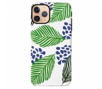 Funda Gel Doble Capa IPhone 11 Pro - Hojas