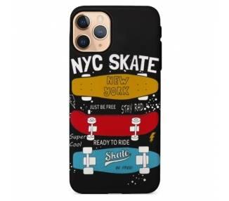 Funda Gel Doble Capa IPhone 11 Pro - NYC Skate