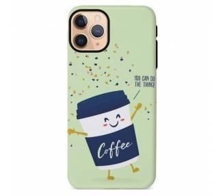 Funda Gel Doble Capa IPhone 11 Pro - Coffee