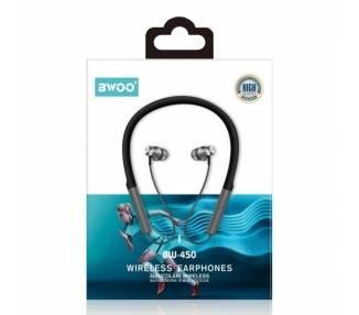 Auricular Cascos Con Bluetooth BWOO BW-450