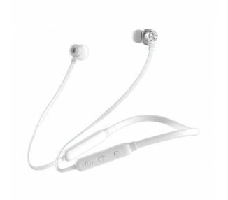 Auricular Cascos Con Micrófono BWOO BW-750 Blanco