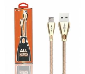 Cable Moxom CC-31 de Carga Rápida 2.4A - Micro USB