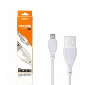 Cable Moxom CC-64 de Carga Rápida 2.4A - Micro USB 2 Colores