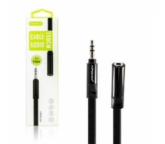 Cable Plano Audio 1.5m APOKIN Minijack 3.5mm