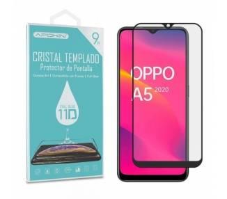 Cristal templado Full Glue 11D Premium Oppo Reno A5 2020 / A9 2020 Protector de Pantalla Curvo Negro
