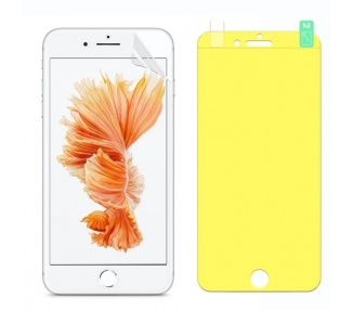 Protector Pantalla TPU iPhone 6 Plus Plastico Flexible Curvo