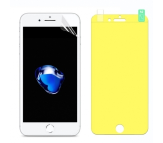Protector Pantalla TPU iPhone 7 Plus / 8 Plus Plastico Flexible Curvo