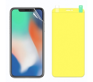 Protector Pantalla TPU iPhone X / Xs Plastico Flexible Curvo