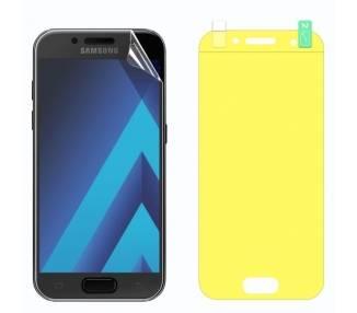 Protector Pantalla TPU Samsung Galaxy A3 2017 Plastico Flexible Curvo