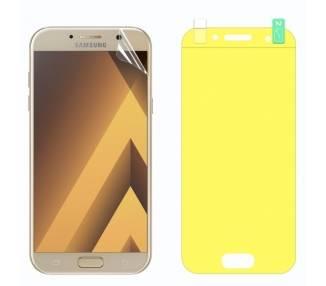 Protector Pantalla TPU Samsung Galaxy A7 2017 Plastico Flexible Curvo
