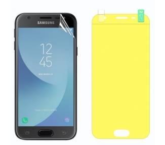 Protector Pantalla TPU Samsung Galaxy J3 2017 Plastico Flexible Curvo