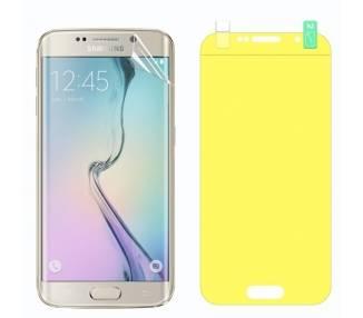 Protector Pantalla TPU Samsung Galaxy S6 Edge Plastico Flexible Curvo
