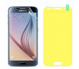 Protector Pantalla TPU Samsung Galaxy S6 Plastico Flexible Curvo
